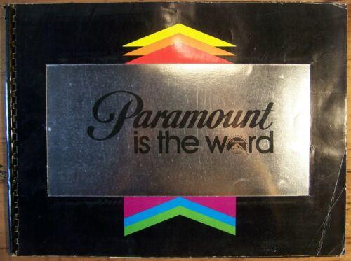 PARAMOUNT Campaing Book, 1979 395