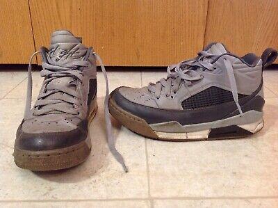 Nike Jordan Shoes YOUTH Size 6Y Gray Flight Shoe Michael Air US 6Y