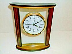 Howard Miller Victor Quartz Alarm Clock- New in Box