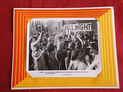 "Original 1981 Hell Night Photo HN 26-7ALobby card 11"" x 14"" very good condition"