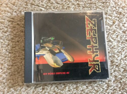 Computer Games - Zephyr PC CD-ROM Computer Game New World Computing