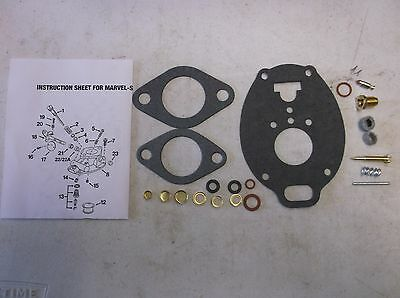 John Deere Basic Carb Kit Marvel Schebler M Mc Mt 40 320 330 420 430 440 1020