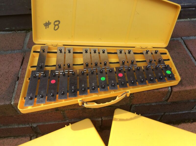 Glockenspiel 25K Xylophone In Case - Very Good