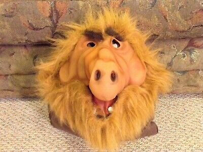 Rubber Face Masks Halloween (ALF Halloween Costume - MASK - Adult Rubber Face & Ears - ALF TV)