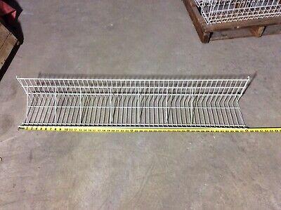 Lot Of 25 Gridwallslatwall 48 Shelves