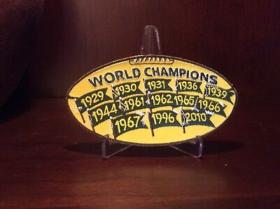 Titletown Exclusive Limited Edition Green Bay Packers World Champions Patch