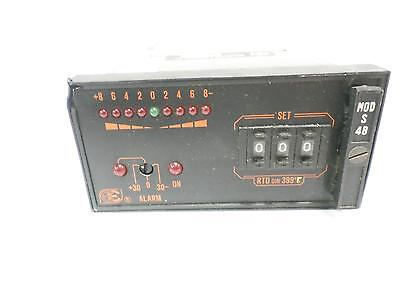 Ero Electronic Temperature Controller Dual Alarm  Sdh 261-111