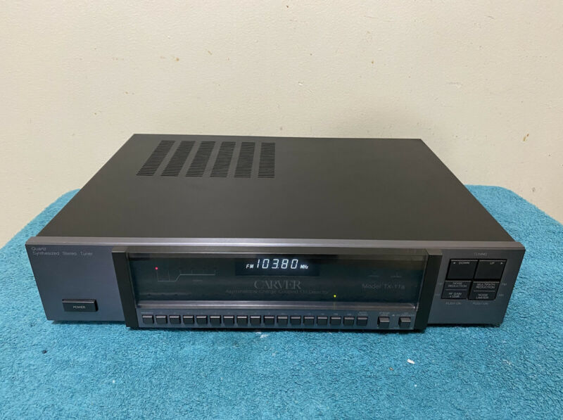 Carver TX-11a Stereo Tuner