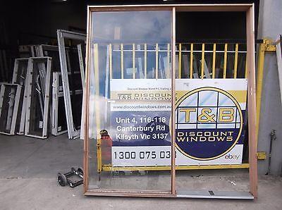 Timber Glazed Entry Door Frame. 2350H x 2055W (Item 3007/13)