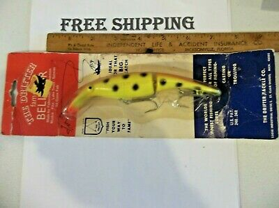 """9/"""" Squirrely Jake Musky Mania Pike Crankbait Lure Perch SQJ9-02 Drifter Tackle"""