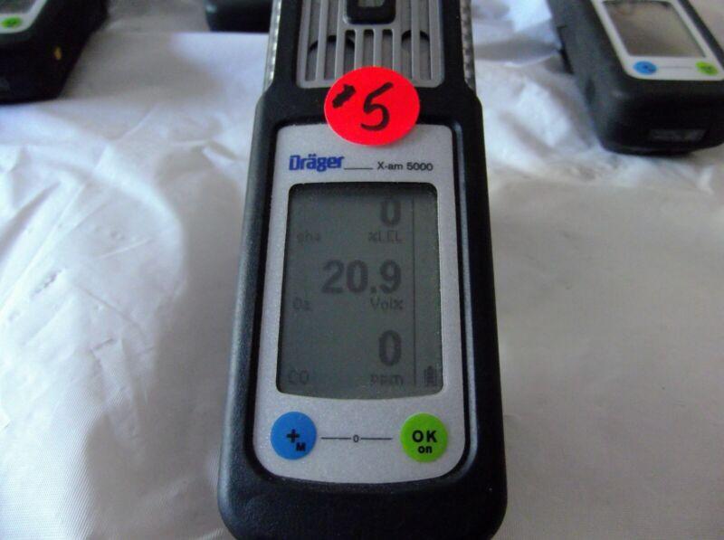 Draeger X-AM 5000 Offer #5 Liquidation of my odor mitigation business