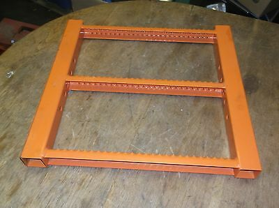 New Orange 3-step Industrial Ladder Piece Part Number 4845884 Free Shipping