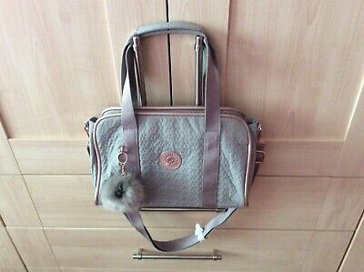 Kipling Handbag Medium, Dove Grey