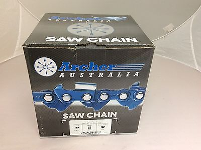 - 100ft Archer Roll 3/8LP (low-pro) .050 Chain saw Chain FULL CHISEL Professional