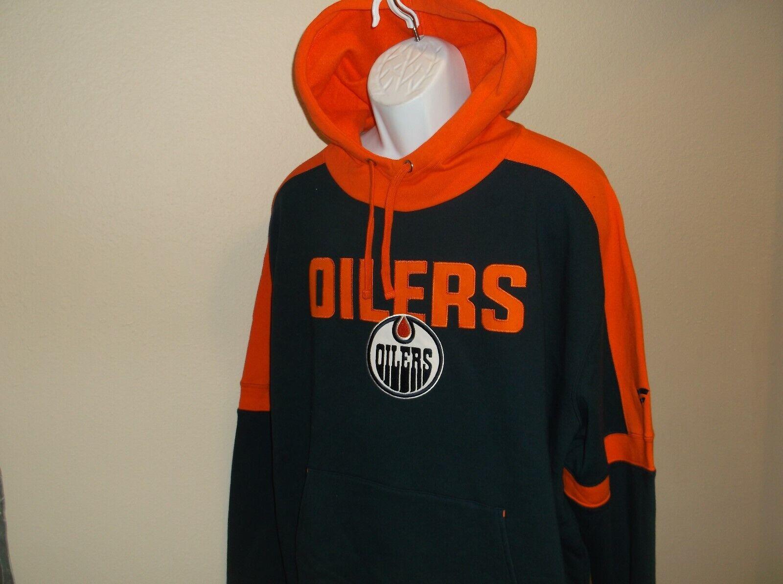 Edmonton Oilers Fanatics Hoodie Sweatshirt Men's Medium nwt