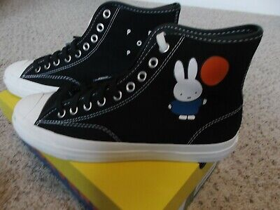 NEW Converse Pop Trading Company Limited Edition Jack Purcell Pop/Miffy Size 7
