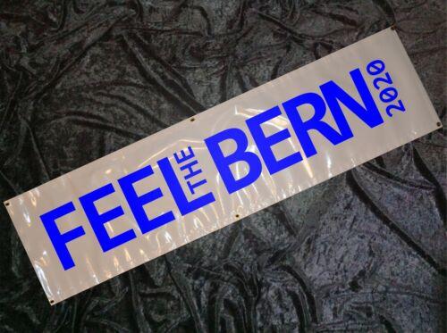 Bernie Sanders FEEL the BERN 2020 8ft Banner Sign