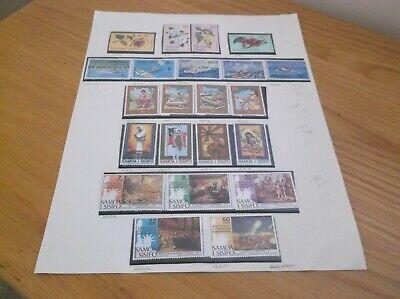 Page of 22 Vintage  Samoa I Sisifo  Stamps