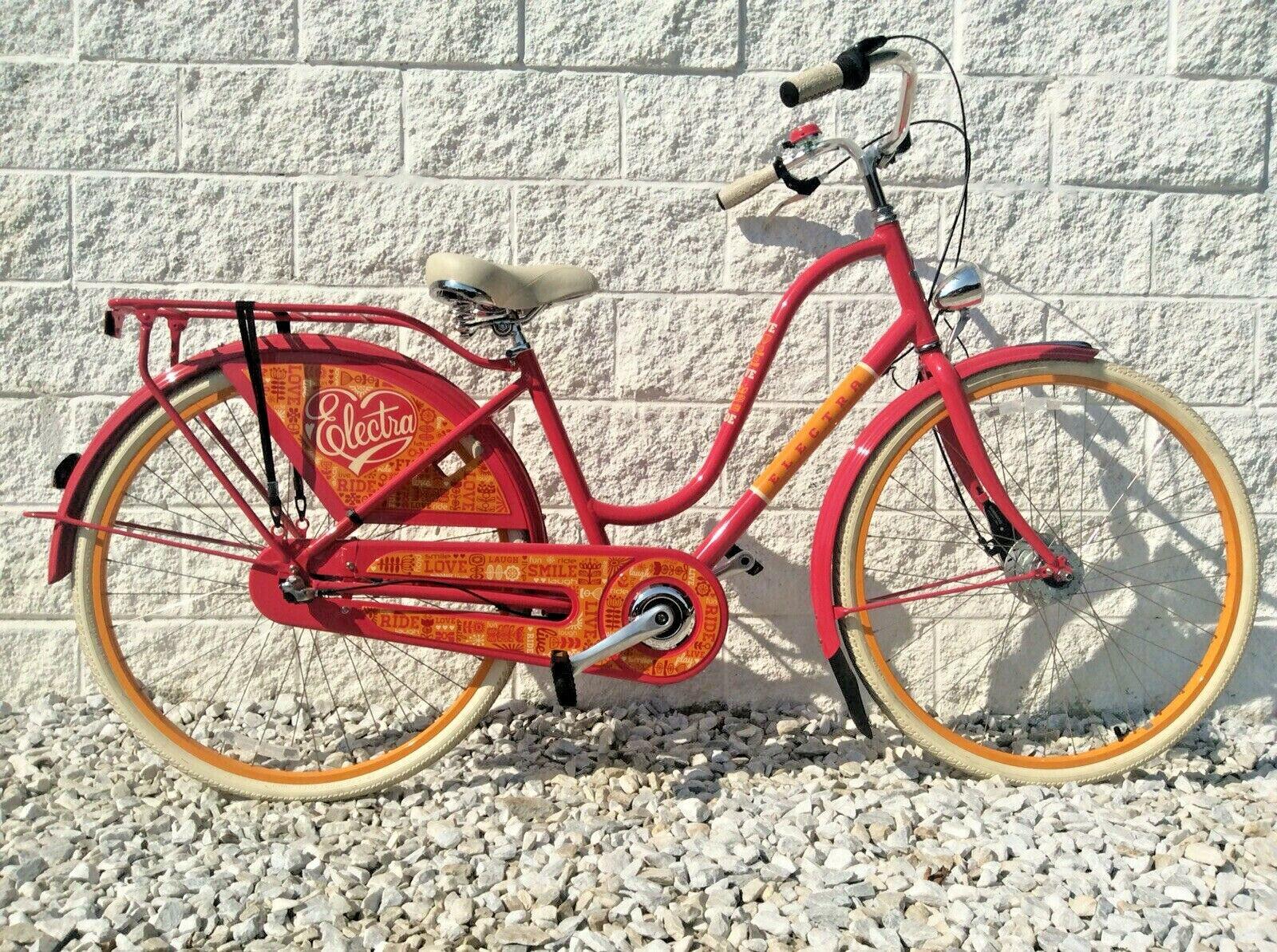 Electra Cruiser Bike! 3 Speed Internal Hub w/ Rear Rack, Tai