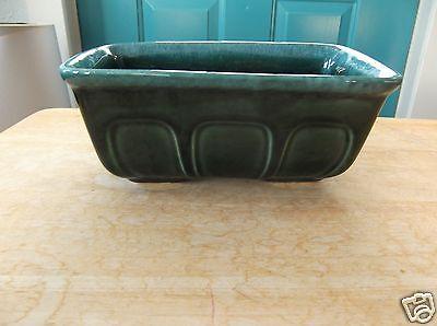 Retro Green Hull USA F469 Marked Art Pottery Planter