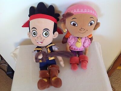 DISNEY STORE JAKE & IZZY  FROM JAKE AND THE NEVERLAND PIRATES 12