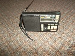 Sony ICF-7600D AM/FM/SW SSB - Worldwide Portable Radio - Works