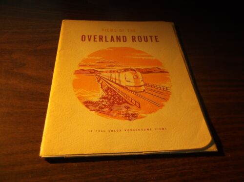 SOUTHERN PACIFIC FULL COLOR KODACHROME VIEWS OF THE OVERLAND ROUTE