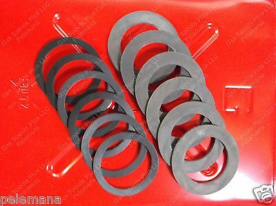 6 Jerrycan Spout Gaskets 6 Cap Gskts Fuel Blitz Metal Gas Usmc Military 20l 10
