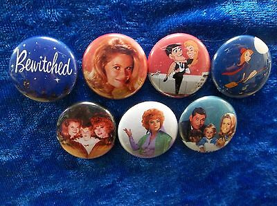 1  Pinback Buttons Inspired By  Bewitched  Classic Tv