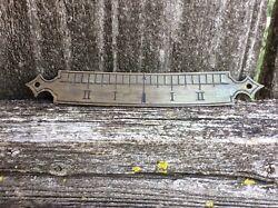 Antique Original American Wall Regulator Clock Beat Scale