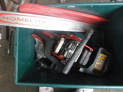 HOMELITE 250 PETROL CHAINSAW - Spares Or Repairs