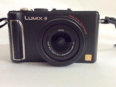 Panasonic LUMIX DMC-LX3 Digitalkamera - Schwarz comprar usado  Enviando para Brazil