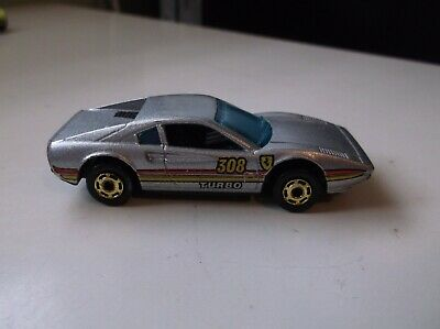 HOT WHEELS THE HOT ONES RACE BAIT FERRARI 308 SILVER