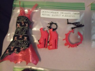 Monster High Doll Draculaura Frights, Camera Action Outfit & Accessories