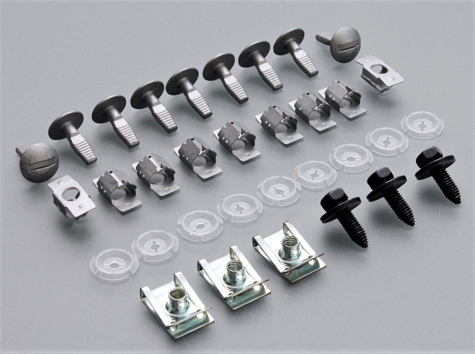10+10 clips Unterfahrschutz Einbausatz Unterboden SET Citroen C2 C3 C4 C5 C6 C8
