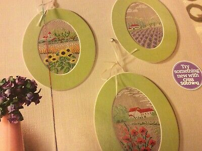 Used, Zweigart Floral Village Scene Patterns Cross stitch chart Only (888) for sale  Shipping to South Africa