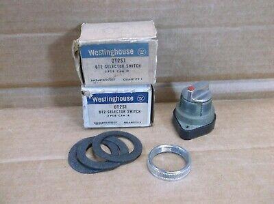 OT2S1 Westinghouse Eléctrico Nuevo en Caja Selector Interruptor Operador 0T2S1