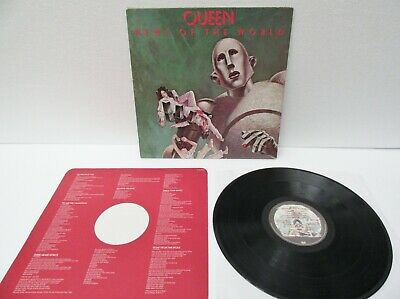 Queen- News Of The World - First Press YAX 1/2 ,Vinyl LP, VG+/VG+