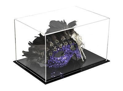 (Versatile Acrylic Display Case, Cube, Dust Cover Riser 12 x8.25 x7.25 (A018-CDS))