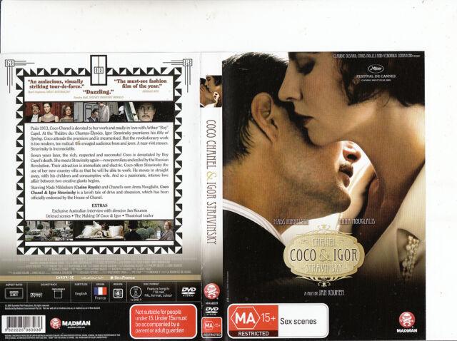 Coco Chanel and Igor Stravinsky-2009-Mads Mikkelsen-France Movie-DVD