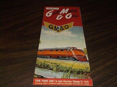WINTER/SPRING 1964 GM&O GULF, MOBILE & OHIO RAILROAD PUBLIC TIMETABLE