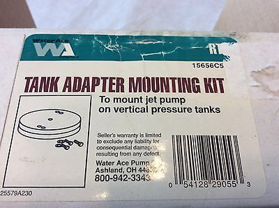 Water Ace Tank Adapter Mounting Kit To Mount Vertical Pressure Tanks 15656c501