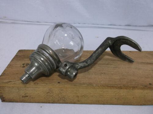 Antique Glass Ball Liquid Soap Dispenser WATROUS disinfecting Vintage #4 School