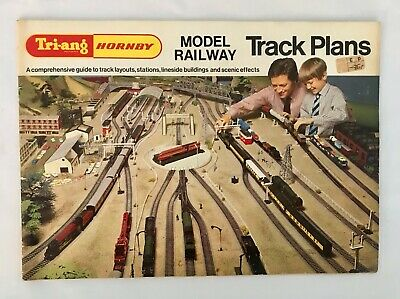 Triang Hornby Model Railway Track Plans 1970 1st Edition Tri-Ang R.6166/70