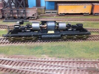 HO scale  parts  SD 7 , 9   running chassis  Athearn  Ho Scale Working