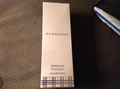 200 Ml Perfumed Bath (BURBERRY Classic Perfumed Bath & Shower Gel 6.6 oz / 200 ml Made in France NEW )