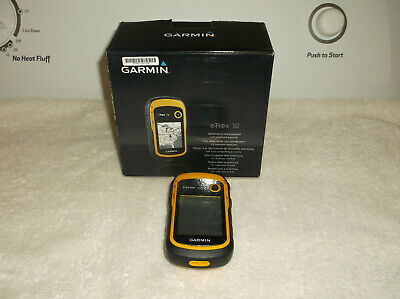 Garmin eTrex 10 Handheld GPS Navigator Hunting Fishing Original Box