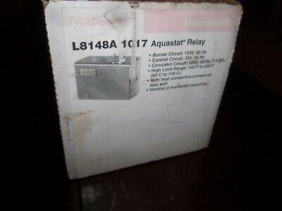 Honeywell L8148a 1017 1124 1157 Oil Burner High Limit Boiler Aquastat Control