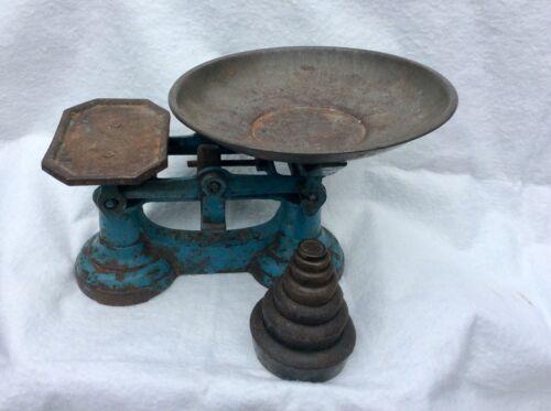 Vintage iron scale