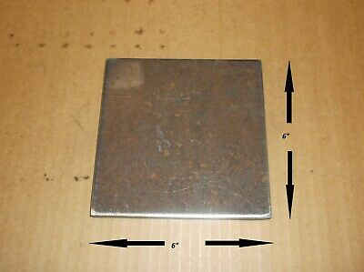 14 X 6 X 6 Steel Plate - Base Plate - Weld Plate - Free Shipping